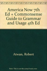 Baixar America now 7th ed + commonsense guide to grammar pdf, epub, eBook