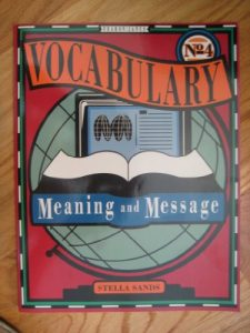 Baixar Vocabulary, meaning and message pdf, epub, ebook