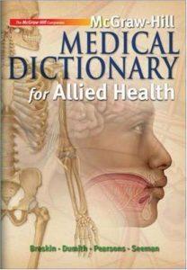Baixar Mcgraw-hill medical dictionary for allied health pdf, epub, eBook