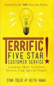 Baixar Terrific! five star customer service: learning pdf, epub, ebook