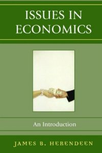 Baixar Issues in economics pdf, epub, ebook