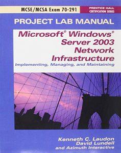 Baixar Mcse exam 70-291 lab manual pdf, epub, eBook