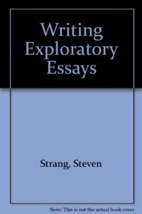 Baixar Writing exploratory essays pdf, epub, ebook