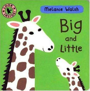 Baixar Melanie walsh board book – big and little pdf, epub, eBook