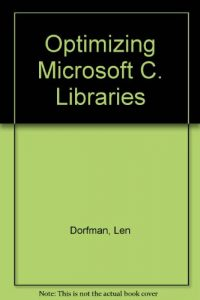 Baixar Optimizing microsoft c libraries pdf, epub, eBook
