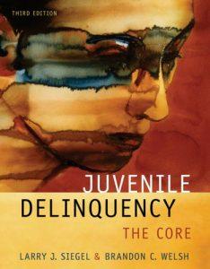 Baixar Juvenile delinquency pdf, epub, ebook