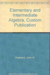 Baixar Elementary and intermediate algebra, custom public pdf, epub, ebook