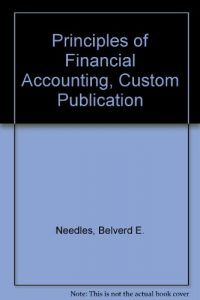 Baixar Principles of financial accounting, custom publica pdf, epub, ebook