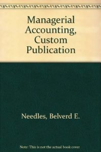 Baixar Managerial accounting, custom publication pdf, epub, ebook