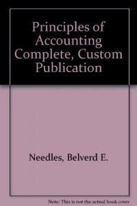 Baixar Principles of accounting complete, custom publicat pdf, epub, ebook