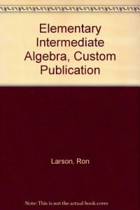 Baixar Elementary intermediate algebra, custom publicatio pdf, epub, ebook