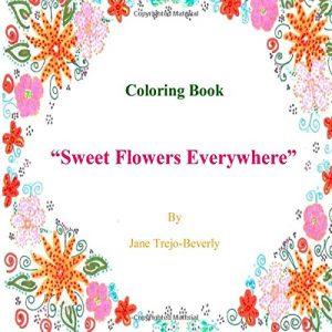 Baixar Sweet flowers everywhere coloring book pdf, epub, eBook