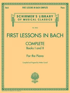Baixar First lessons in bach complete, books 1 and 2 pdf, epub, ebook
