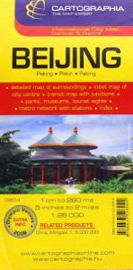 Baixar Cartographia beijing city map pdf, epub, eBook