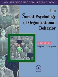 Baixar Social psychology of organizational behavior pdf, epub, ebook