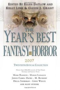 Baixar Years best fantasy and horror 2007, the pdf, epub, eBook