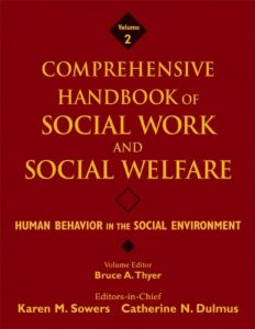 Baixar Comprehensive handbook of social work and pdf, epub, ebook