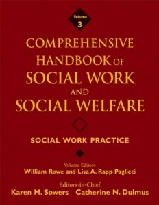 Baixar Comprehensive handbook of social work and social w pdf, epub, ebook