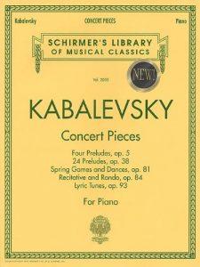 Baixar Kabalevsky – concert pieces for piano pdf, epub, ebook
