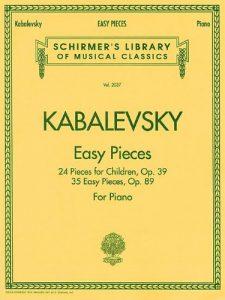 Baixar Kabalevskyeasy pieces pdf, epub, ebook