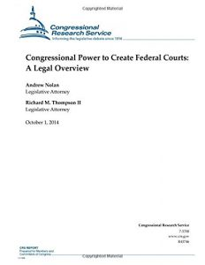 Baixar Congressional power to create federal courts pdf, epub, ebook
