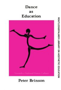 Baixar Dance as education pdf, epub, ebook