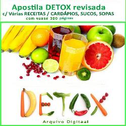 Baixar APOSTILA DETOX – pdf, epub, ebook