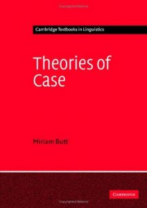 Baixar Theories of case pdf, epub, ebook