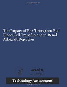 Baixar Impact of pre-transplant red blood cell, the pdf, epub, ebook