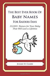 Baixar Best ever book of baby names for raiders, the pdf, epub, ebook