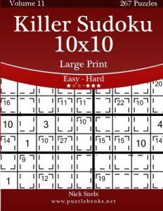 Baixar Killer sudoku 10×10 – easy to hard pdf, epub, ebook