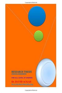Baixar Research thesis pdf, epub, ebook