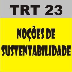 Baixar TRT23 Noções de Sustentabilidade pdf, epub, eBook
