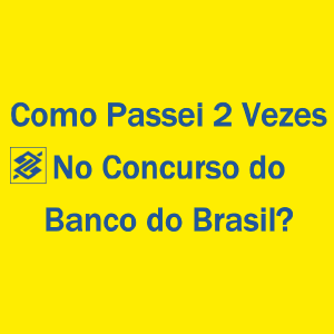 Baixar Como Passei 2 Vezes no Concurso do Banco do Brasil pdf, epub, eBook