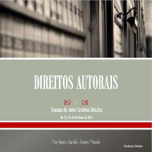 Baixar e-Book Creativas Dekstra – Direitos Autorais pdf, epub, eBook
