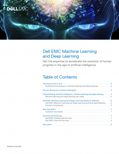 Dell EMC Machine Learning Solution Overview