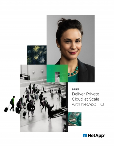 Deliver Private Cloud At Scale With Netapp HCI