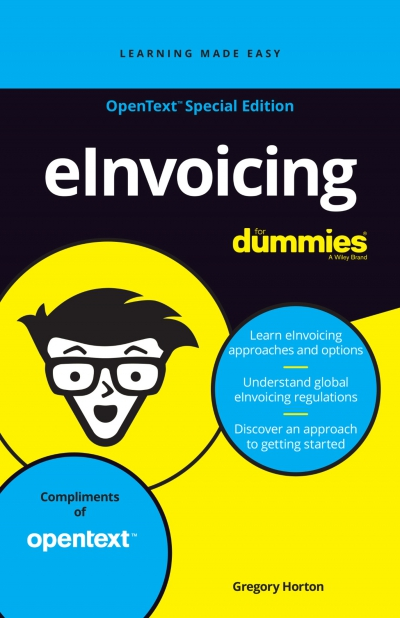 Einvoicing For Dummies