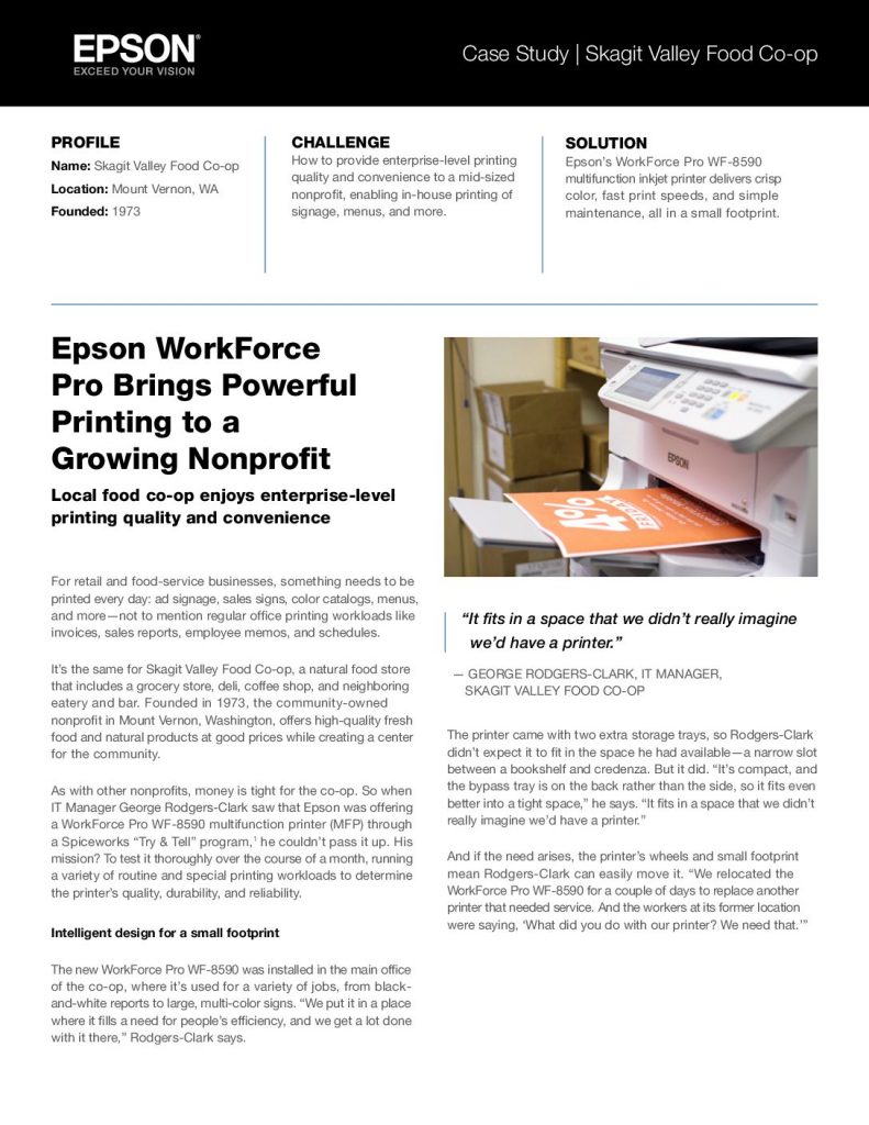 Download Epson WorkForce Pro Brings Powerful Printing to a Growing