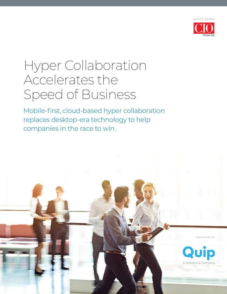 Hyper Collaboration Accelerates the Speed of Business