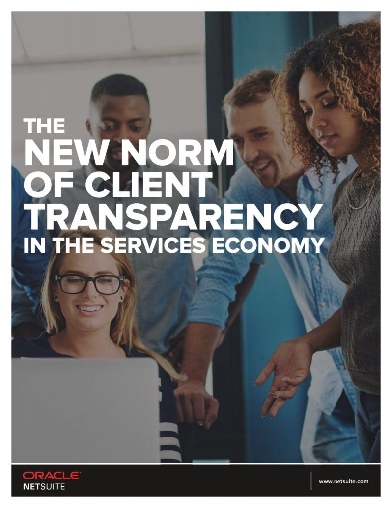 The New Norm of Client Transparency in The Services Economy