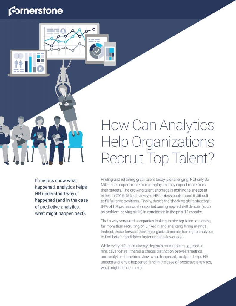 How Can Analytics Help Organizations Recruit Top Talent?
