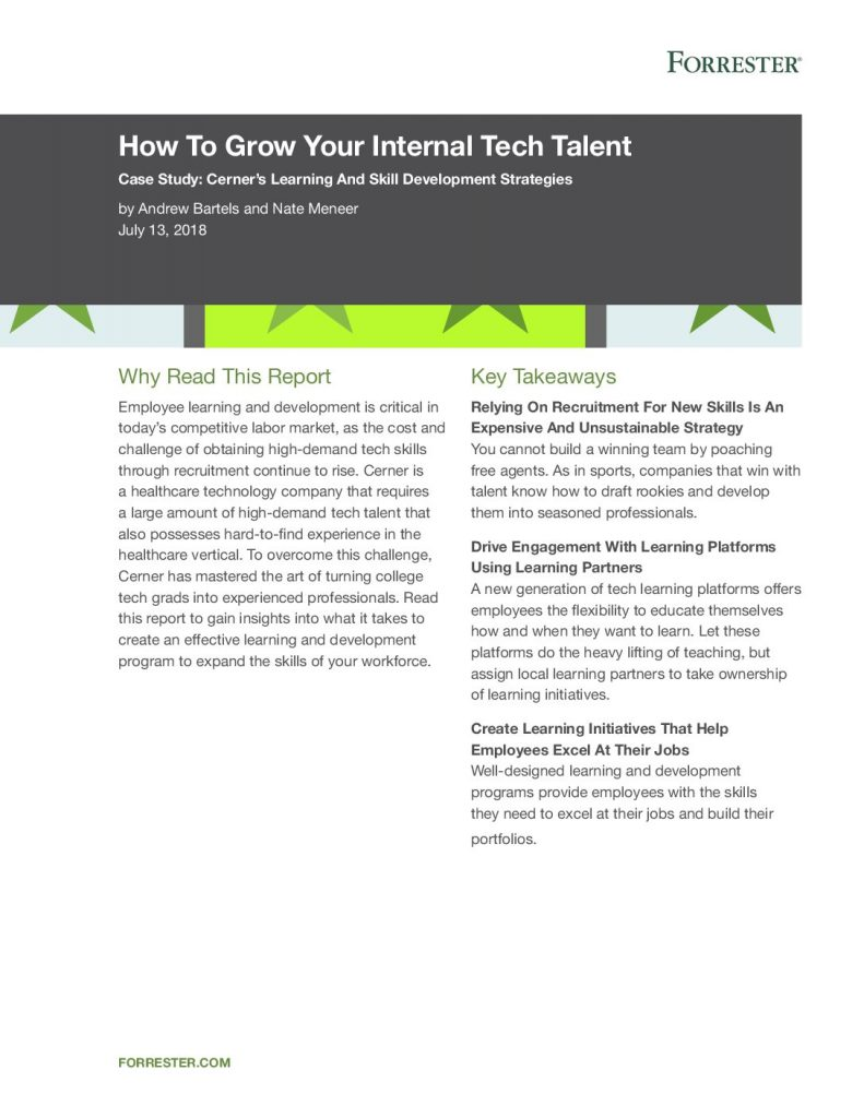 How To Grow Your Internal Tech Talent