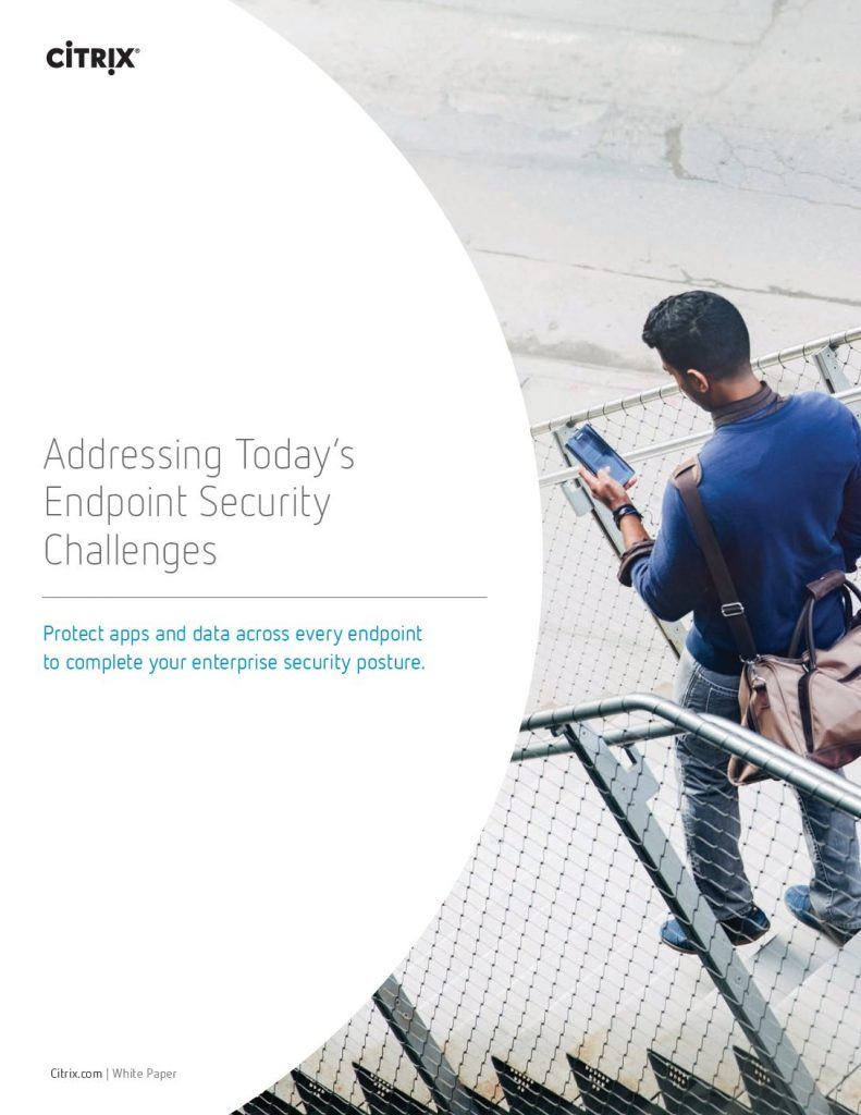 Addressing Today's Endpoint Security Challenges