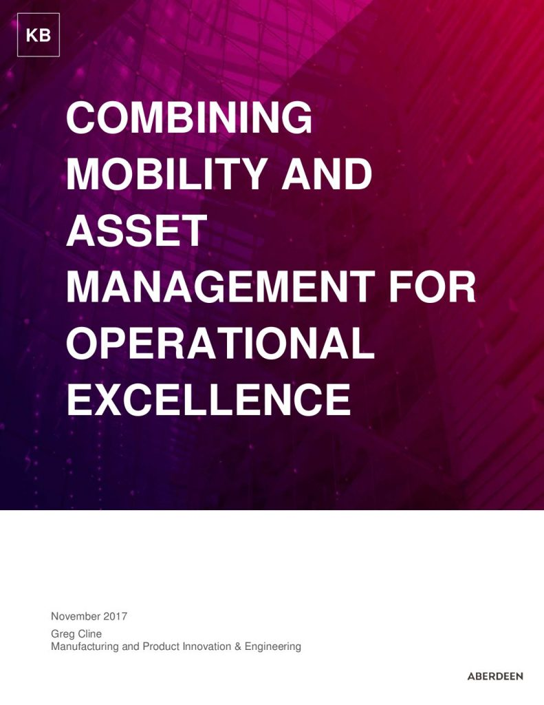 Combining Mobility and Asset Management for Operational Excellence