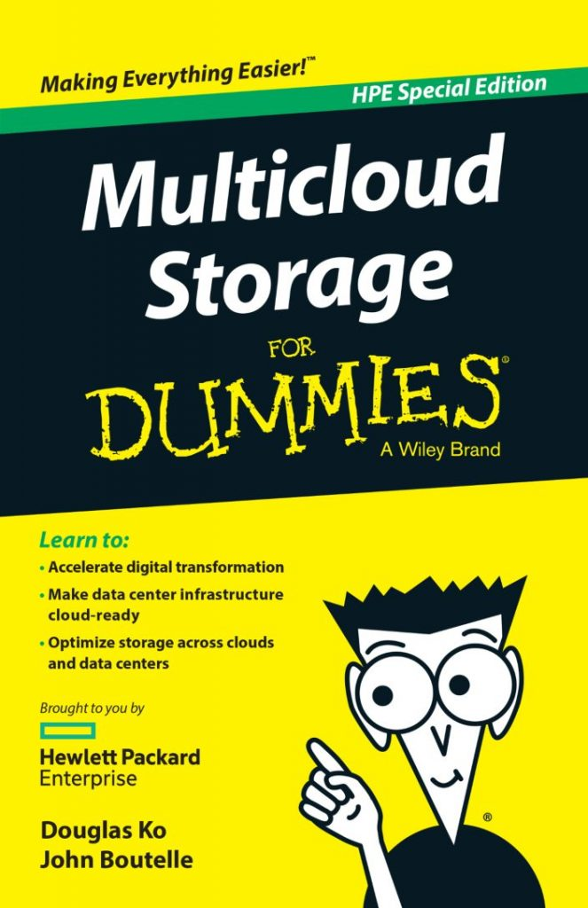 Multicloud Storage for Dummies Book