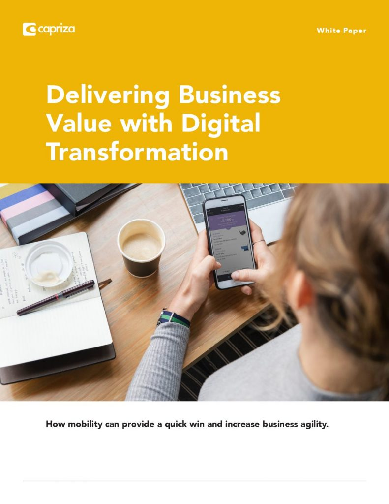 Delivering Business Value with Digital Transformation