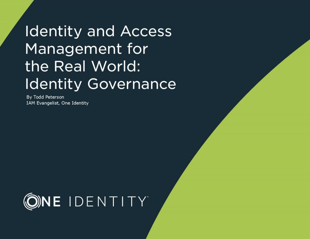 IAM for the Real World: Identity Governance