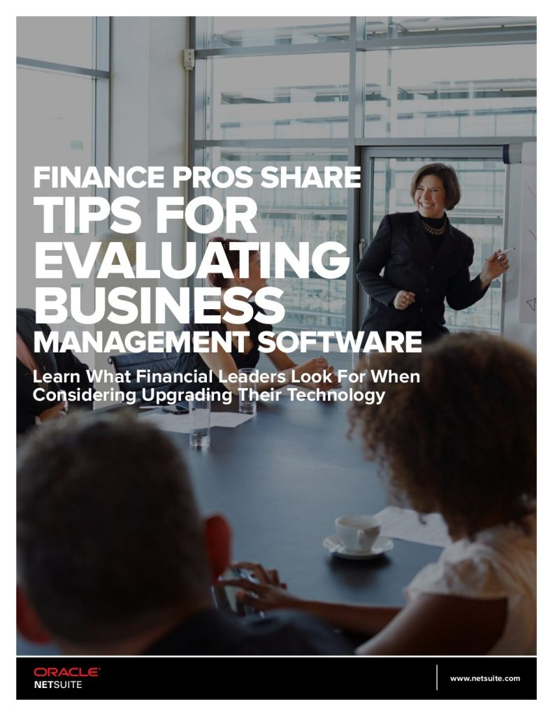 Finance Pros Share Tips for Evaluating Business Management Software