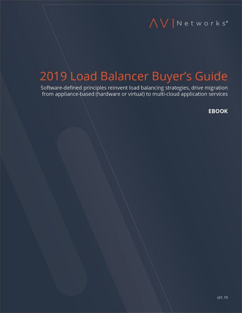 2019 Load Balancer Buyer's Guide